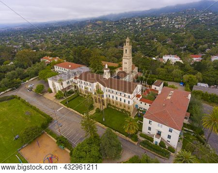 Garden Street Academy With Spanish Colonial Style Aerial View At 2300 Garden Street Next To Old Miss