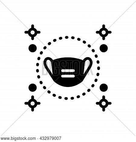 Black Solid Icon For Preserve Mask Conserve Defend Keep Perpetuate Protect Safeguard Secure Take-car