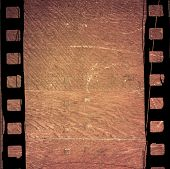 Great film strip for textures and backgrounds with space poster