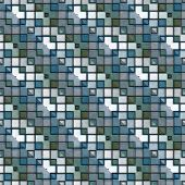 seamless texture of tiles in cool colors poster