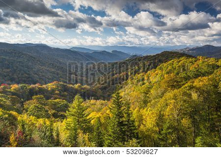 Smoky Mountains National Park in Tennessee, USA.