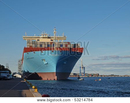 Majestic M�rsk Largest Container Ship