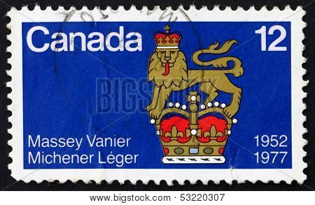 Postage Stamp Canada 1977 Canadian-born Governors General