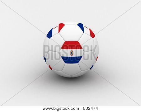 Paraguay Soccer Ball