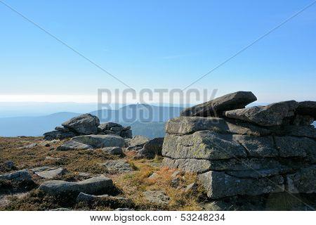 Rocks on the summit of the Brocken