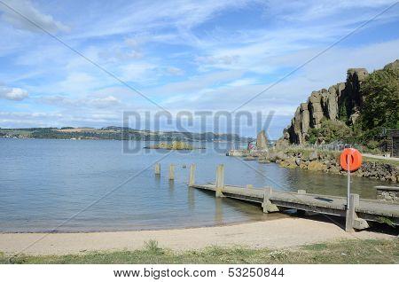 Inchcolm Pier