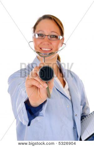 Successful Female Doctor
