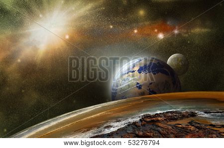 Planets In Other Space