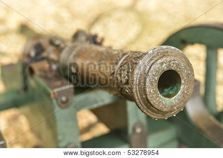 Small Cannon At Arkhangelskoye Palace, Russia