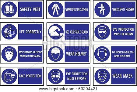 Mandatory  Signs