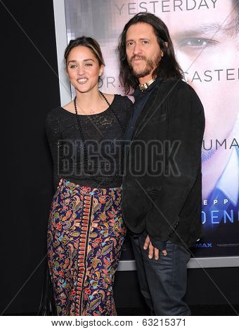 LOS ANGELES - APR 10:  Clifton Collins Jr arrives to the 'Transcendence' Los Angeles Premiere  on April 10, 2014 in Westwood, CA