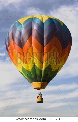 Hot air balloons at Provo Freedom Festival held July 2006 poster