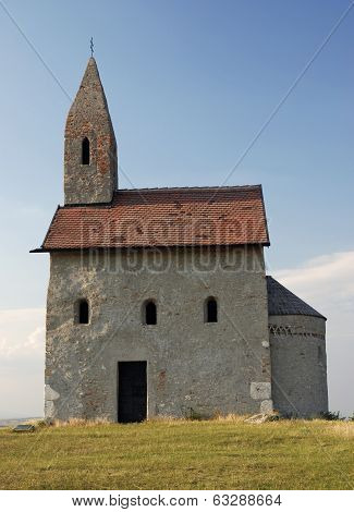 Small Catholic Chapel In Slovakia