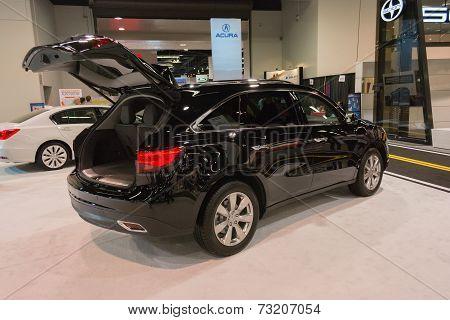 2015 Acura Mdx  At The Orange County International Auto Show