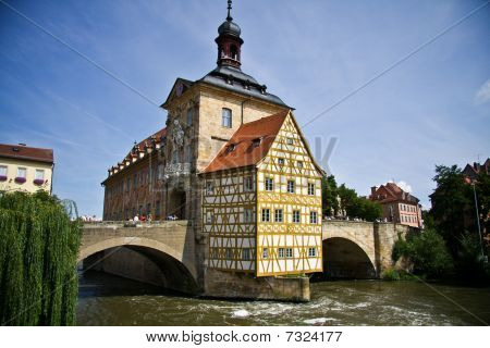 City Hall of Bamberg, Germany