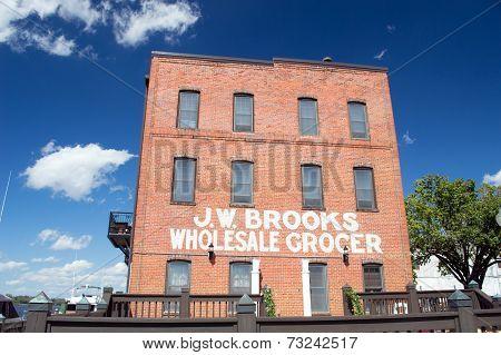 Wilmington,NC USA Oct 4- J.W. Brooks Wholesale Grocery