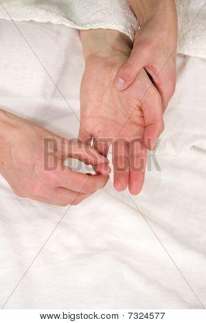 hand reflex zone massage