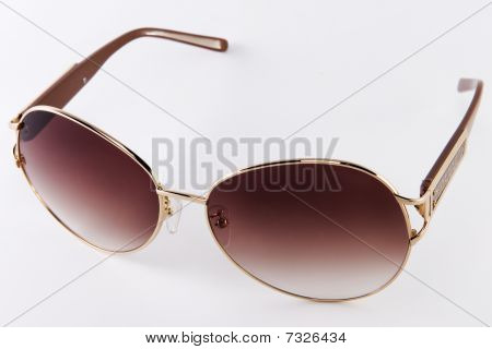 sunglasses on a white background