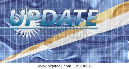 Flag Of Marshall Islands Wavy News