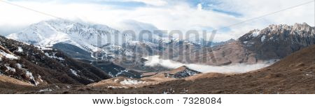 Caucasus Mountains Panoram