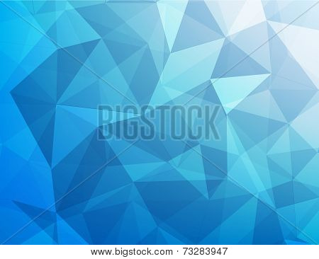 Abstract Background Of Blue