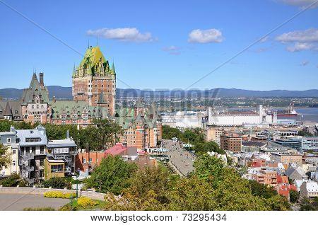 Quebec City skyline, Quebec, Canada