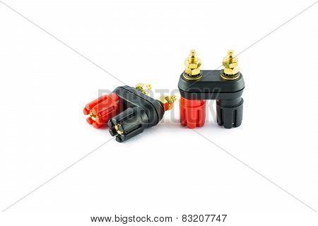 Loudspeaker Plug Connector Terminal