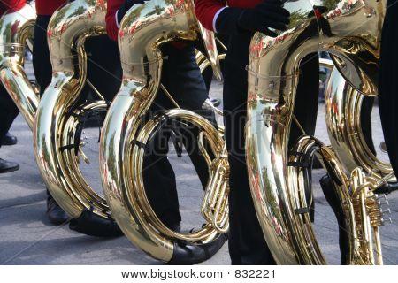 tubas on parade