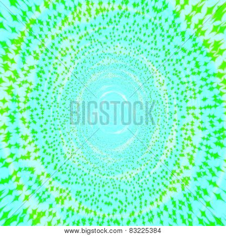 Abstract blue green spring season background