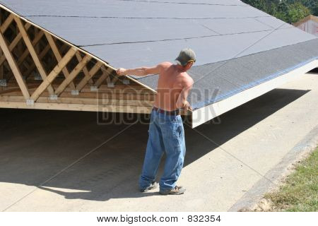 Roof in Road