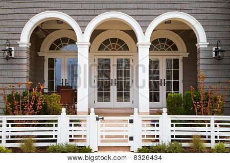 Three French Doors