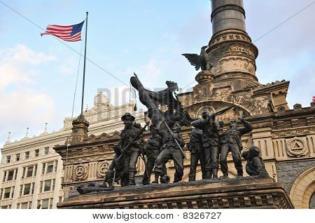 Soldiers and Sailors Monument Cleveland