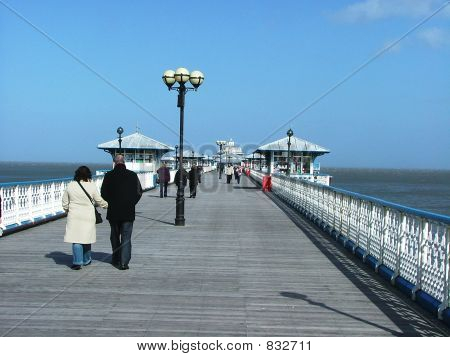 Seaside Pier, Wales.
