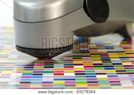 offset machine press print run at table fountain key spectrometer control unit