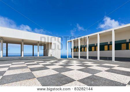 Culture centre in Ponta do Pargo at Madeira Island Portugal poster