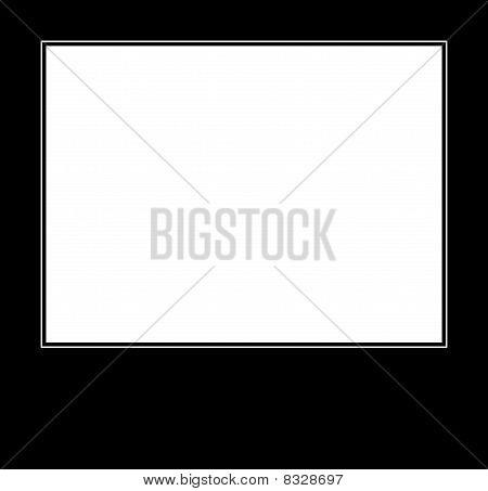 Demotivating Black Mourning Horisontal Photo Frame