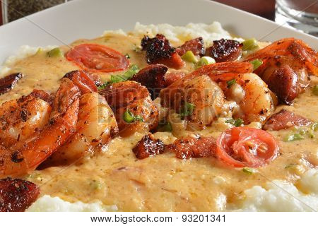 Cajun Shrimp And Grits