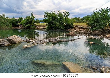 Lake With Thermal Water