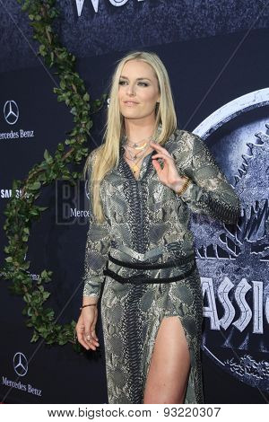 LOS ANGELES - JUN 9:  Lindsey Vonn at the