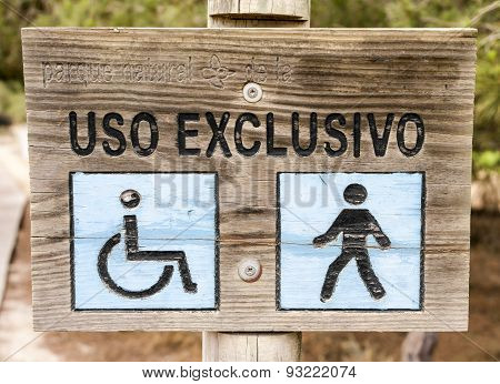 exclusive use