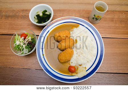 Japanese Curry Pork With Rice