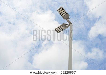 LED street lamps