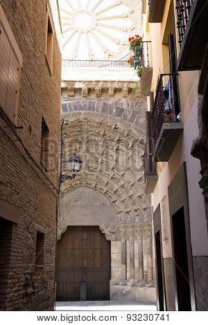 The Door Of The Last Judgement, Tudela, Spain