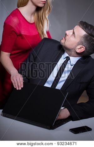 Worker Harassed By Female Boss