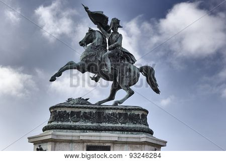 Statue Of Archduke Charles