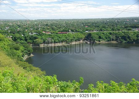 Lake in Managua, Nicaragua