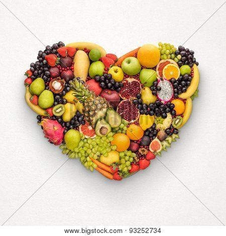 Healthy Fruity Heart.