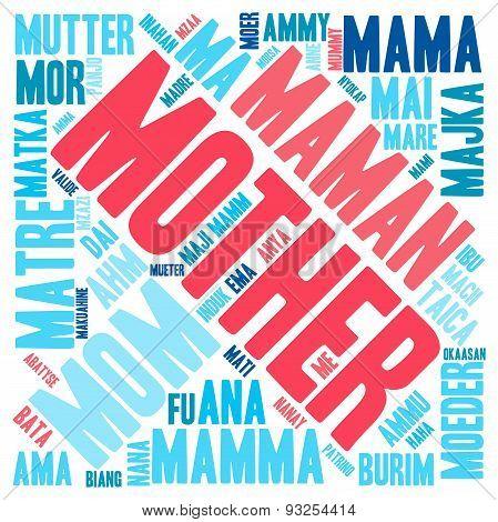 Mother International Word Cloud
