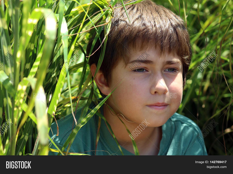 Boy Child Age Nine Image Photo Free Trial Bigstock