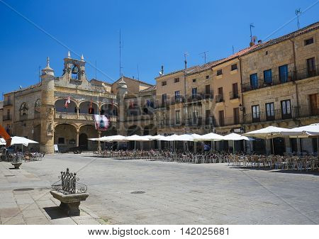 Ciudad Rodrigo - Town Hall At Plaza Mayor